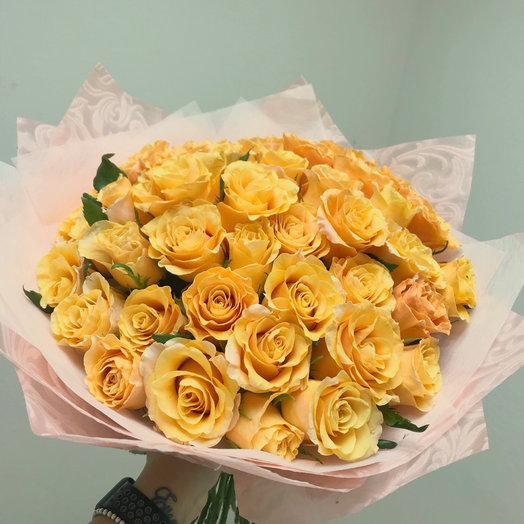 Рыжее солнышко: букеты цветов на заказ Flowwow