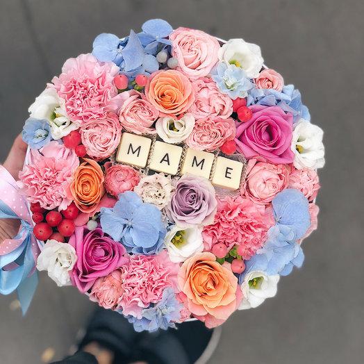 Коробочка для мамы : букеты цветов на заказ Flowwow