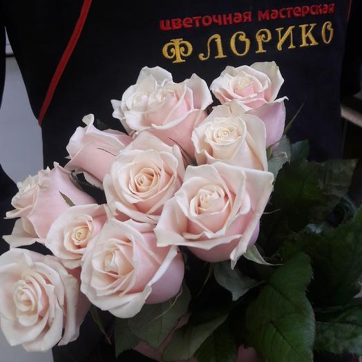 Чайная роза 11: букеты цветов на заказ Flowwow