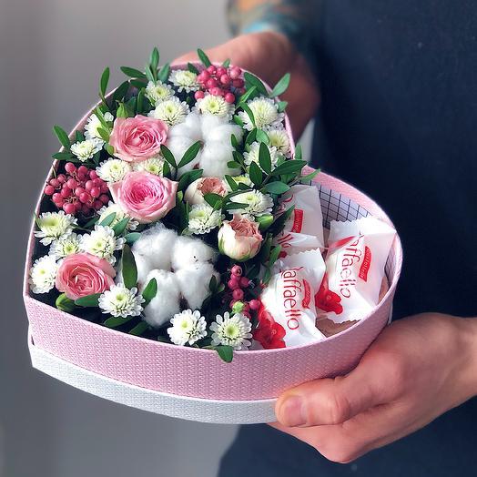 Heart 15 Малое: букеты цветов на заказ Flowwow