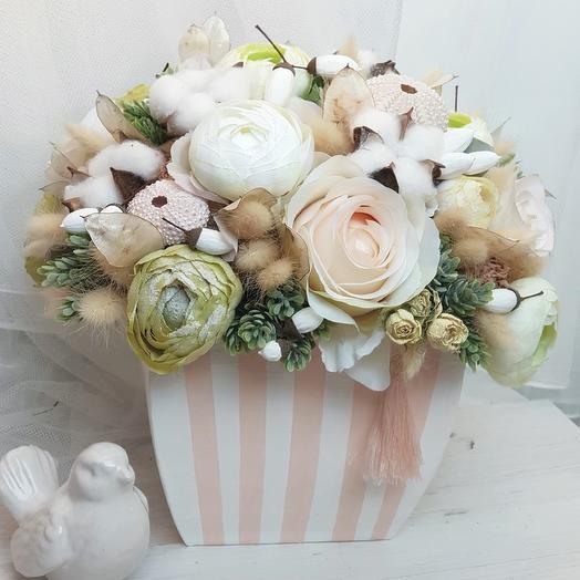 Композиция интерьерная: букеты цветов на заказ Flowwow