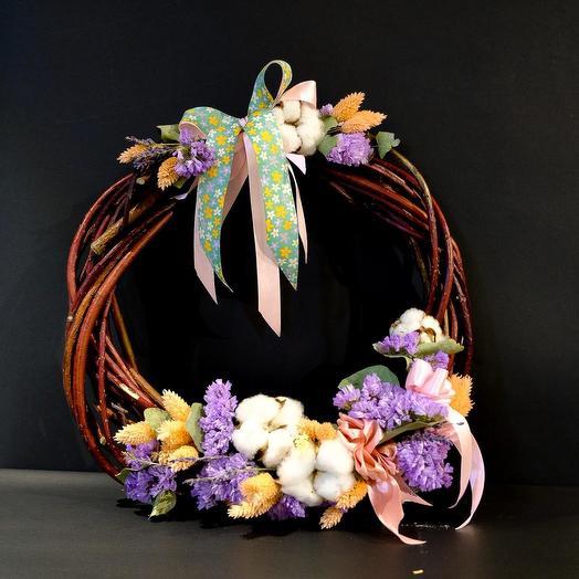 Весенний венок: букеты цветов на заказ Flowwow