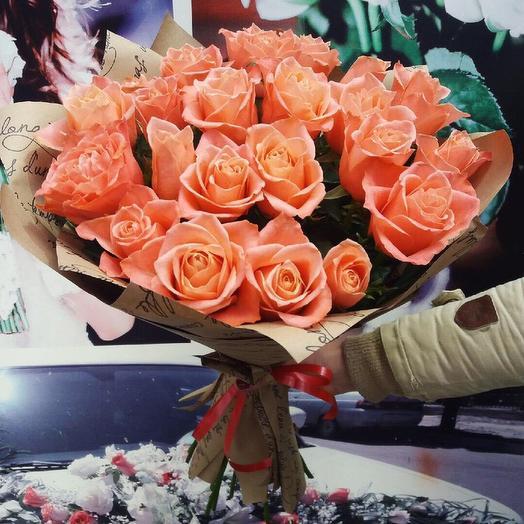 Букет из роз «Деметра»