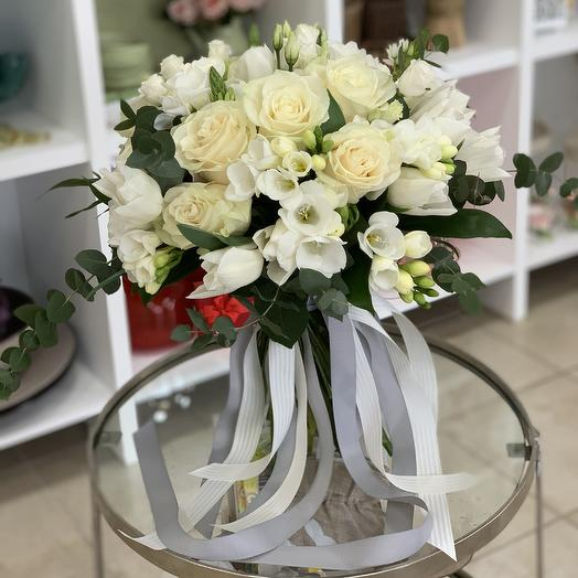 Я тебя люблю ♥️: букеты цветов на заказ Flowwow
