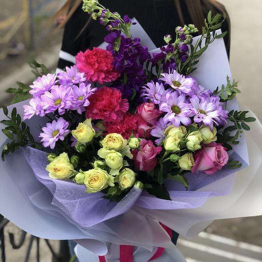 Летнее настроение: букеты цветов на заказ Flowwow