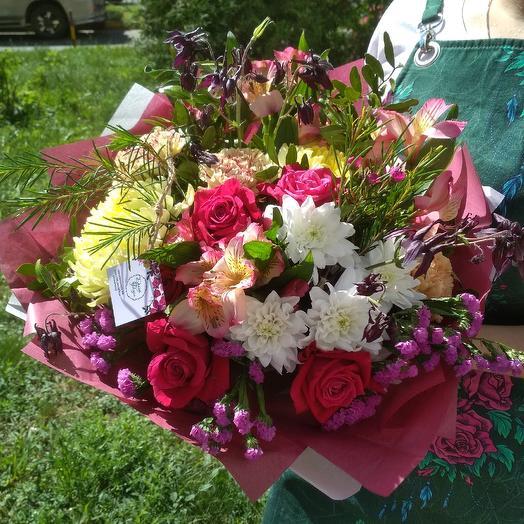 Игра красок: букеты цветов на заказ Flowwow