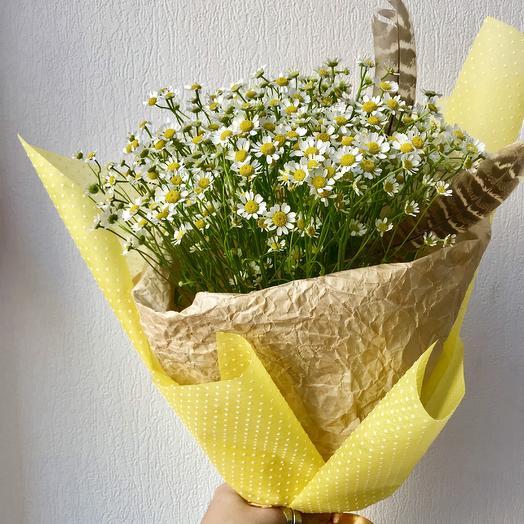«Облако ромашек»: букеты цветов на заказ Flowwow