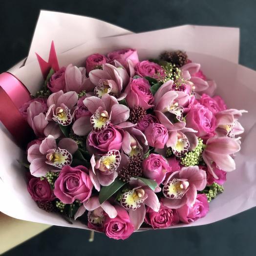 Букет «Фуксия»: букеты цветов на заказ Flowwow