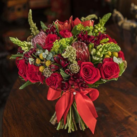 "Букет ""Три Желания"": букеты цветов на заказ Flowwow"