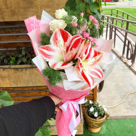 Прекрасного дня: букеты цветов на заказ Flowwow