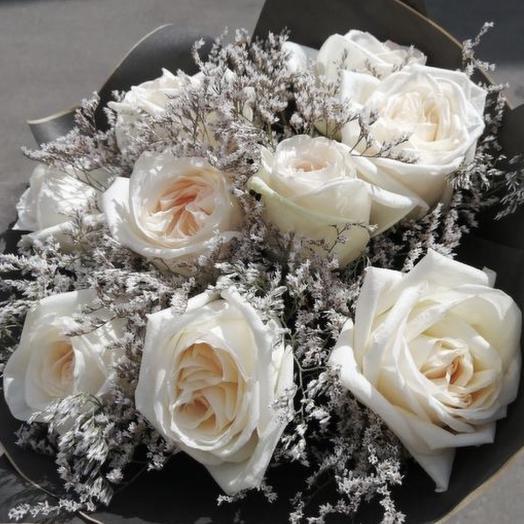 Букет роза Нежная О Хара