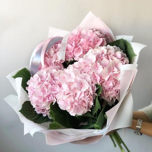 Монобукет из гортензий: букеты цветов на заказ Flowwow