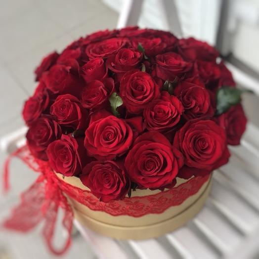 Страсть любви: букеты цветов на заказ Flowwow