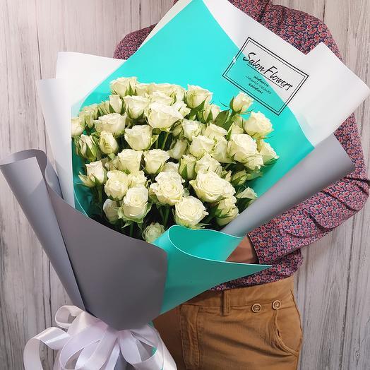 Моно Сноу Флейк: букеты цветов на заказ Flowwow