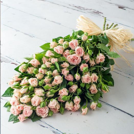 """Букет """"Розовый рай"""": букеты цветов на заказ Flowwow"""