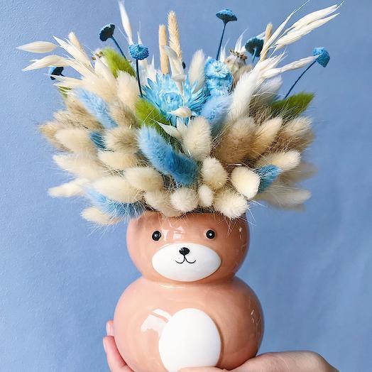 Комплект «букет+ваза»: букеты цветов на заказ Flowwow