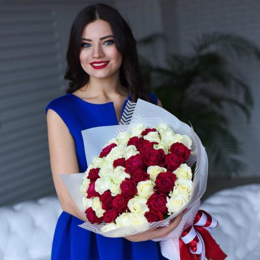 Для влюбленных: букеты цветов на заказ Flowwow