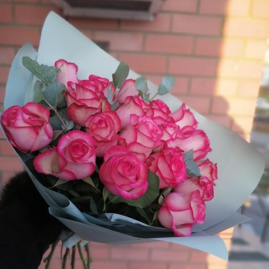 Поцелуй рассвета: букеты цветов на заказ Flowwow