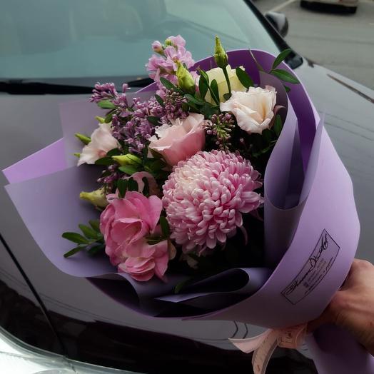 Сиреневое настроение🦄: букеты цветов на заказ Flowwow
