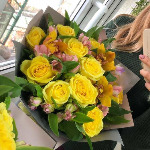 Мое солнце: букеты цветов на заказ Flowwow