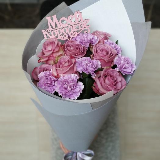 Букет - Моей Королеве: букеты цветов на заказ Flowwow