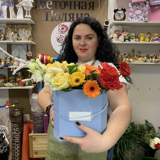 Шикарный переход цвета ️: букеты цветов на заказ Flowwow