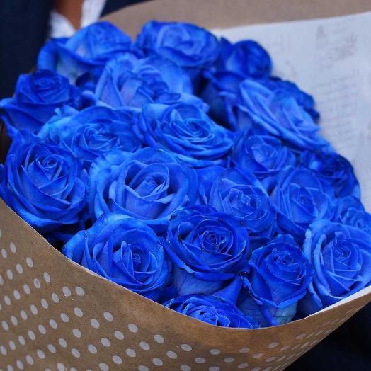 Синяя лагуна 💙: букеты цветов на заказ Flowwow