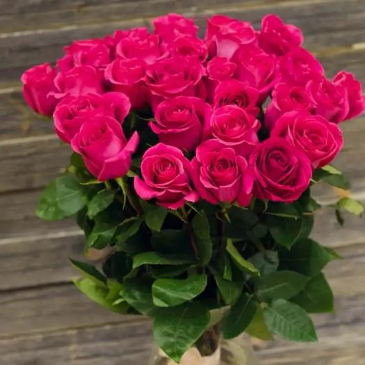 Розы  розовые: букеты цветов на заказ Flowwow