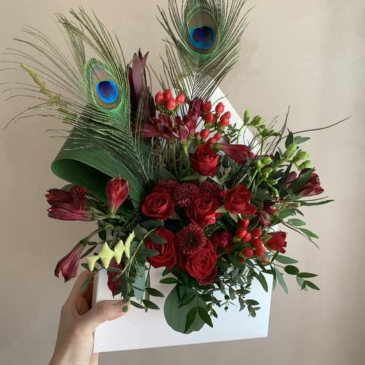 Радостная весть: букеты цветов на заказ Flowwow
