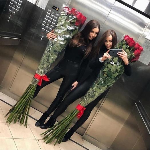 Гигантские розы 160 см - 35шт