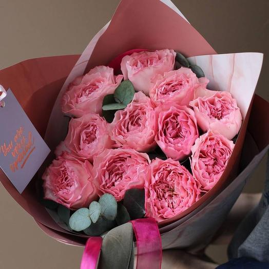 Кружевная роза: букеты цветов на заказ Flowwow