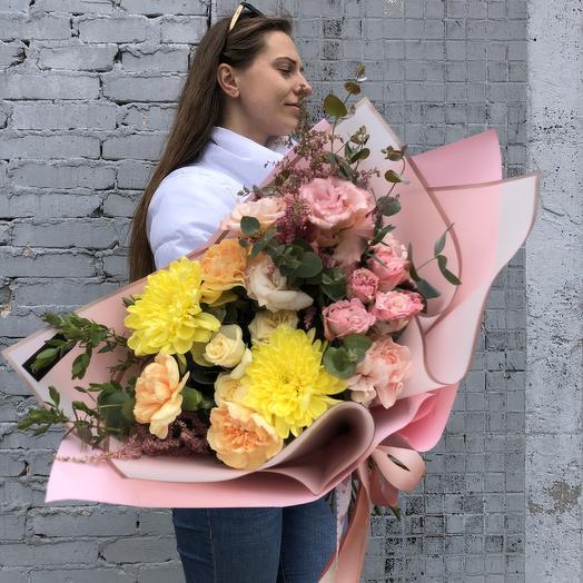 Яркий авторский букет: букеты цветов на заказ Flowwow