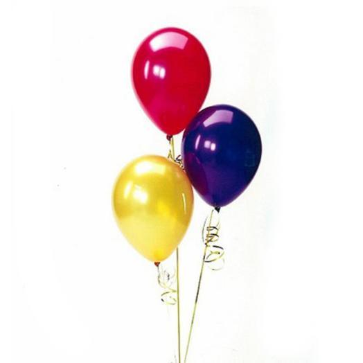 Набор гелиевых шаров из 3 шт (12 дюймов)