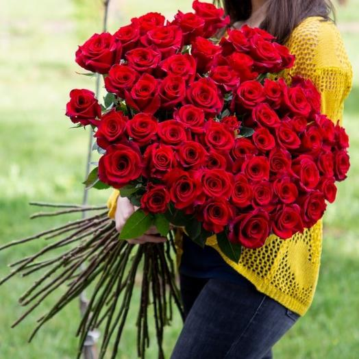 """Roses """"Black magic"""", 51 pcs"""