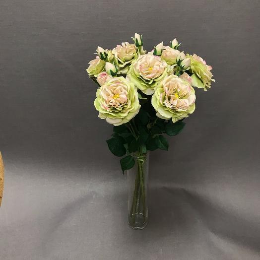 Букет из 9 искусственных роз