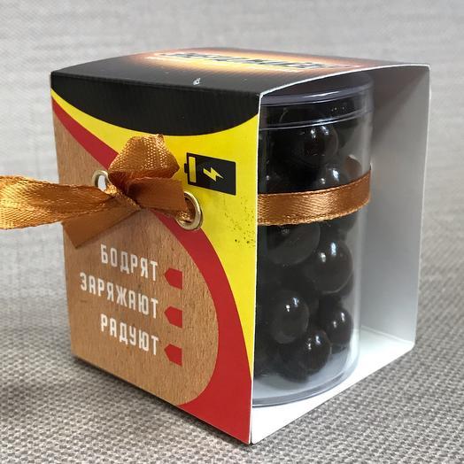 Кофейные зерна в шоколаде «Энерджайзер»