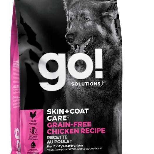GO! беззерновой корм для собак всех возрастов с цельной курицей 1,59 кг