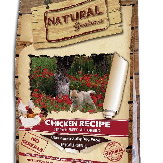 Natural Greatness Chicken Recipe Starter Puppy сухой корм для щенков 6 кг