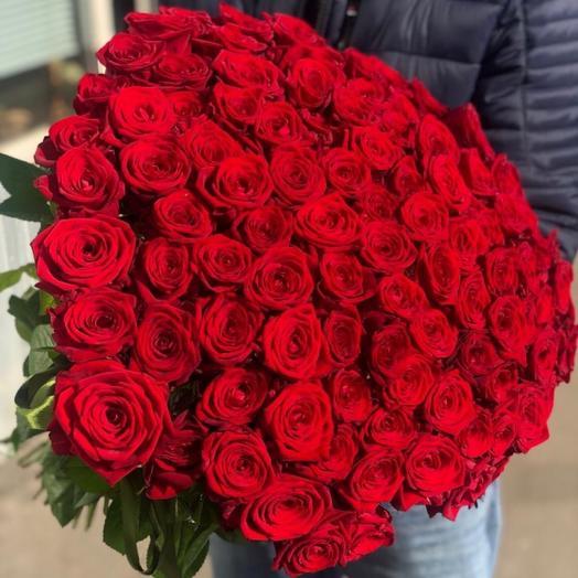 Букет роз Ред наоми