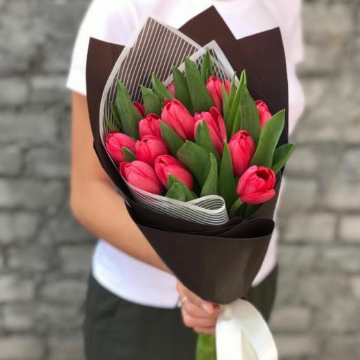 Букет тюльпанов «Весенняя сказка»