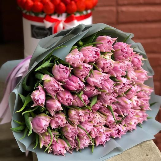 51 peony-shaped tulip
