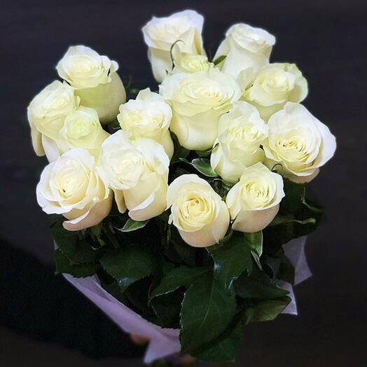 """Букет """"Шёпот грёз"""" 15 роз"""