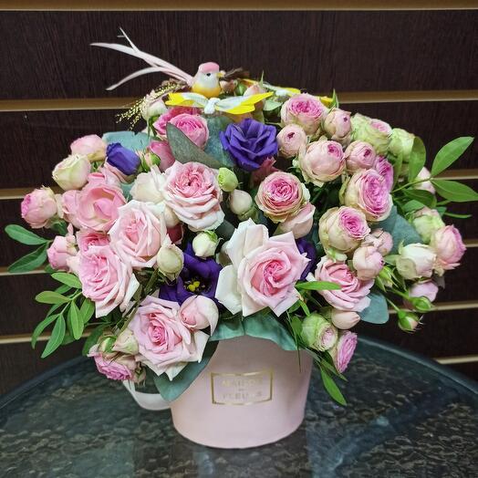 Цветы в коробке  N12