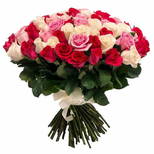 51 Эквадорская роза микс