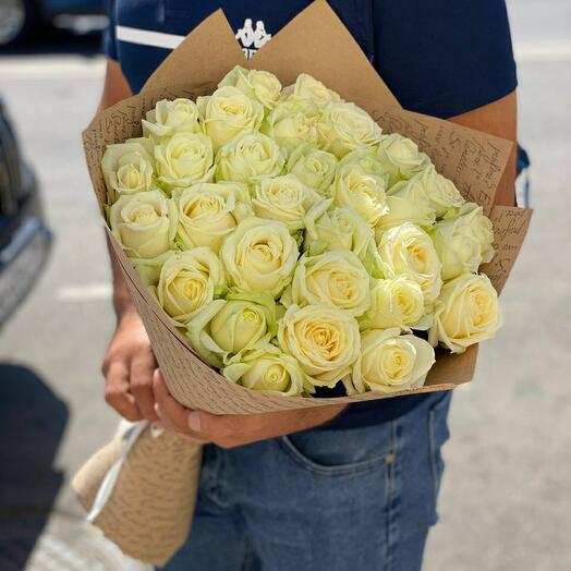 29 белая роза