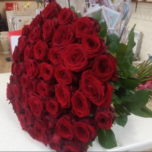 51 Роза Голландия 80 см