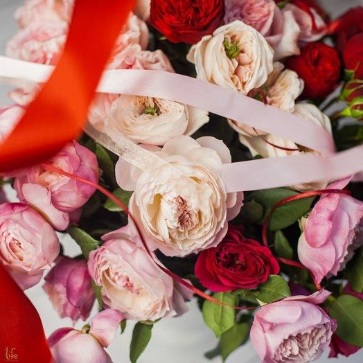 Букет Пионовое счастье: букеты цветов на заказ Flowwow