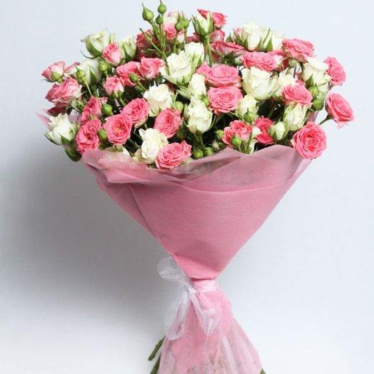 Нежный спрей: букеты цветов на заказ Flowwow