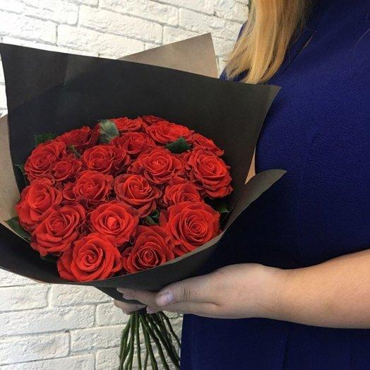 Хот роз: букеты цветов на заказ Flowwow