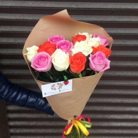 Букет улыбка весны: букеты цветов на заказ Flowwow